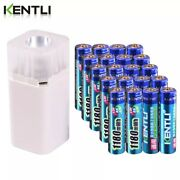 Rechargeable Battery Aaa 20pcs 1.5 V 1180mwh Li-ion Charger Led Flashlight
