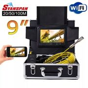 Endoscope Camera Wireless Wifi 30m Pipe Inspection Video Support Android/ios