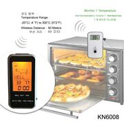 Cooking Thermometer Oven Bbq Kitchen Food Grill Meat With Probe Timer Alarm