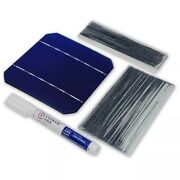 Solar Panel Kit Cells 100w 40 Pcs Diy Charger Monocrystalline 5x5 With 20m Wire