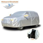 Car Cover Waterproof Outdoor Sun Protection Reflector Dust Rain Snow Protective