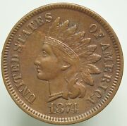 1874 Indian Head Small Cent