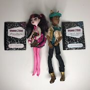 Monster High Forbitten Love Draculaura And Clawd B6
