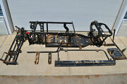 14 Bobcat 3400 Diesel 4x4 Frame Seat Floor Board And Dash Supports