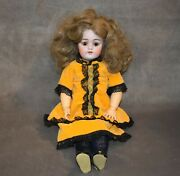 Antique Pre-1930 Kestner 168 German Bisque Head Jointed Composition Body Doll