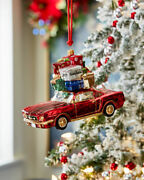 Sold Out Neiman Marcus Exclusive - 2019 - Sports Car Ornament With Packages- Nib