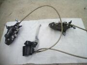 2004 Kawasaki Zrx1200 Zrx 1200 Front Brake Calipers Left And Right Pair And Lines.