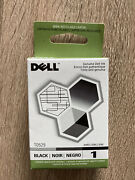 Dell Genuine Black Ink T0529 Printer Cartridge - New Factory Sealed For 920 720