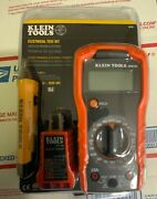 Klein Tools 69149 Test Kit With Multimeter Non-contact Volt Tester Outlet Test
