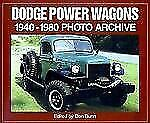 New Dodge Power Wagons 1940-80 Photo Archive We Ship In Boxes