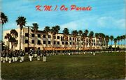 Postcard Kmi On Parade Kentucky Military Institute On Parade At Their Winter