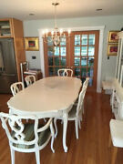 Karges Dining Table And 6 Matching Chairs