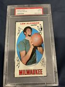 1969 Topps Lew Alcindor Rc 25 Basketball Card Psa 5. Great Centering.