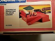 American Flyer Automatic Operating Oil Drum Loader, Nib, Amf 4-2300