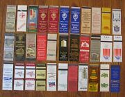 Montgomery, Alabama Lot Of 33 Different Matchbook Matchcovers -e