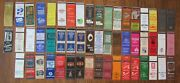 Hartford, Connecticut Lot Of 53 Different Matchbook Matchcovers -f