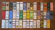 South Bend, Indiana Lot Of 44 Different Matchbook Matchcovers -e