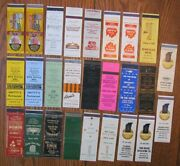 Lafayette, Indiana Lot Of 26 Different Matchbook Matchcovers -e