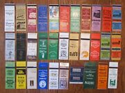 Fayetteville, North Carolina Lot Of 32 Different Matchbook Matchcovers -f