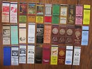 Bloomsburg, Pennsylvania Lot Of 32 Different Matchbook Matchcovers -h
