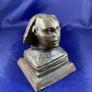 Rare C.1915-20 Sphinx Giza Egypt Advertising Paperweight Souvenir Building