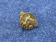 Vintage 14kt Gold Honorable Discharge Pin Z 731