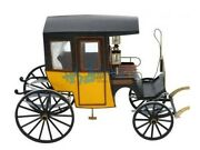 European Carriage Taxi Barcelona Scale 1/10 7.8 Wood Model Kit