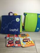 Leapfrog Leappad Learning System Item 30004 With Bag And 4 Books/games