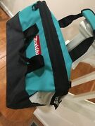 New Genuine Makita 21 X 12 X 13 Contractor Tool Bag Tote Saw Grinder Drill