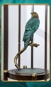 19and039and039 Classical Bronze Crafts Home Decorate Statue Grand Plans Birds Hawk Eagle