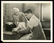 Clark Gable And Jean Harlow 1932 Red Dust Mgm Movie Type 1 Original Photo