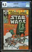 Star Wars 1980 40 Cgc 9.2 1st Full Rogue Squadron White Pages
