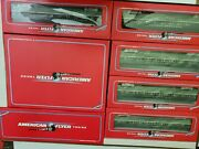 American Flyer 1992 Northern Pacific Set Total 8 Pieces Nib Amf 49602