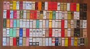New Jersey Diners Lot Of 130 Different Matchbook Matchcovers -e 7