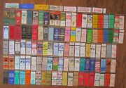 Pennsylvania Diners Lot Of 114 Different Matchbook Matchcovers -e 7