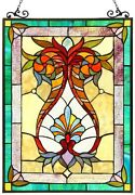 25 Victorian Designer Style Stained Glass Window Panel