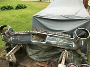 1959 Cadillac Sedan Rear Bumper. Complete With Grill Lights Brackets.etc.