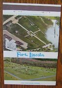 Washington, Dc Fort Lincoln Cemetery Size 40 Matchbook Matchcover -f10