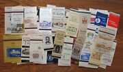 Funeral Homes Lot Of 93 Matchbook Matchcovers -g10