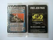 Star Wars Ccg Sealed Jedi Pack And Otsd Booster Pack - 29 Promo Cards In Total