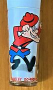 Dudley Do-right Glass Jay Ward Cartoons - Pepsi Collector Series 1970's Mint