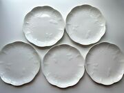 Lenox White Butterfly Meadow Cloud 9 Luncheon Or Salad Plates Set Of 5