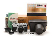 [top Mint In Box] Nikon S3 Year 2000 Limited Edition W/nikkor-s 50mm F/1.4 7121