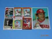 Baseball Card Johnny Bench - 6 Cards And 1 Topps Picture Or Photo
