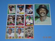 Baseball Card Jim Rice - 9 Cards And 1 Topps Picture Or Photo