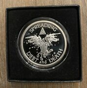 2014 2oz Warbird Proof Silver Shield With Coa