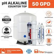 Counter Top Reverse Osmosis Drinking Water Filter System + Ph Alkaline Minerals