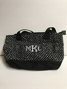 Thirty-one Demi Day Bag Lil Scribble Black And White