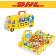 Dhl Pororo Melody School Folding Bus 10 Figure Toddler Toy Kids Set Role Play