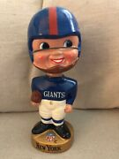 Vintage 1960and039s Nfl Bobblehead New York Giants Japan Pro-novelty Chicago
